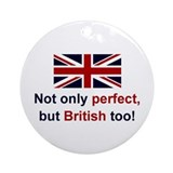 Perfect British Keepsake Ornament