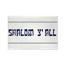 Shalom Y'all! Rectangle Magnet (10 pack)