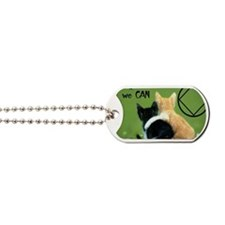 cats together Dog Tags