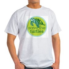 Save Turtles Logo T-Shirt