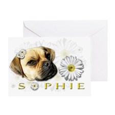 Sopie Clear Greeting Card