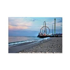 Seaside Heights Ferris Wheel Rectangle Magnet