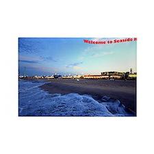 Seaside Heights Boardwalk Rectangle Magnet
