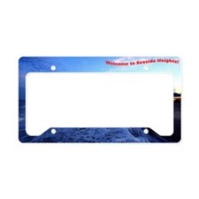 Seaside Heights Boardwalk License Plate Holder