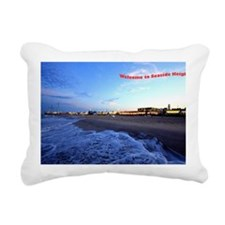 Seaside Heights Boardwal Rectangular Canvas Pillow
