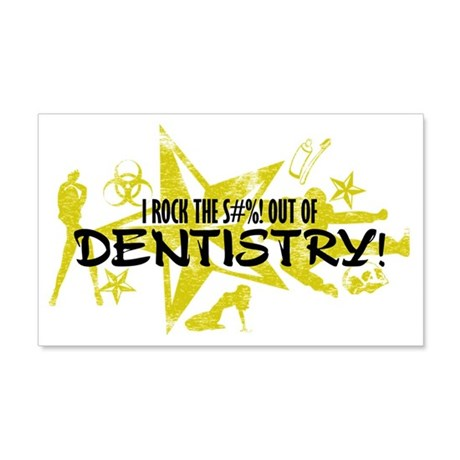 DENTISTRY 20x12 Wall Decal