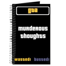 GTA Notebook - Murderous Thoughts