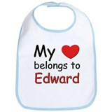 My heart belongs to edward Bib