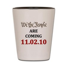We the People light Shot Glass