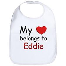 My heart belongs to eddie Bib