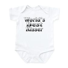 WORLDS BEST Kisser Infant Bodysuit
