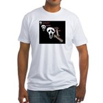 ghost ride the whip Fitted T-Shirt