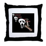 ghost ride the whip Throw Pillow
