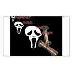 ghost ride the whip Rectangle Sticker