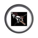 ghost ride the whip Wall Clock