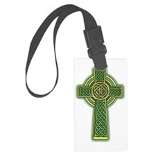 Celtic Cross 2 light Luggage Tag