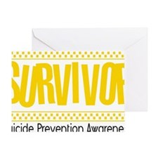 yellow_survivor Greeting Card