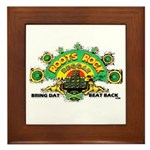 ROOTS ROCK REGGAE Framed Tile