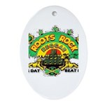 ROOTS ROCK REGGAE Oval Ornament