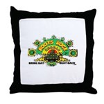 ROOTS ROCK REGGAE Throw Pillow