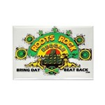 ROOTS ROCK REGGAE Rectangle Magnet (100 pack)
