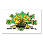 ROOTS ROCK REGGAE Rectangle Sticker