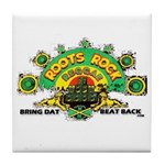 ROOTS ROCK REGGAE Tile Coaster