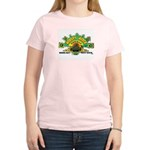 ROOTS ROCK REGGAE Women's Pink T-Shirt