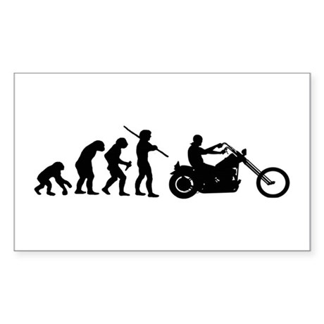 Evolution Rectangle Sticker