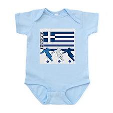 Soccer Greece Onesie