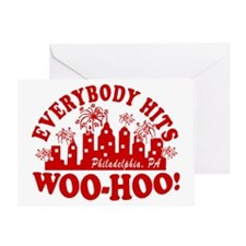 2-Everybody Hits Philly Greeting Card