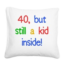 KidInside_40 Square Canvas Pillow