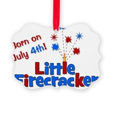 littlefirecracker_bornonjuly4th_2 Ornament