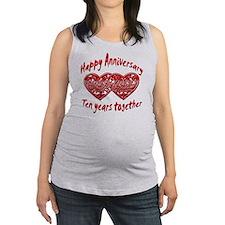 ann ten Maternity Tank Top
