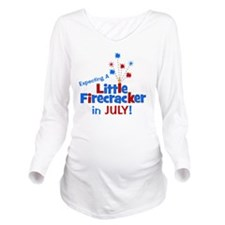 expectingalittlefire Long Sleeve Maternity T-Shirt