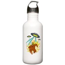 squatch_vs UFO Water Bottle
