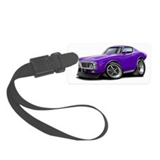 1973-74 Charger Purple Car Luggage Tag