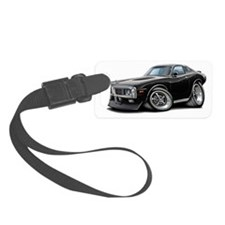 1973-74 Charger Black SE Car Luggage Tag