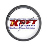 KBFT Logo Wall Clock