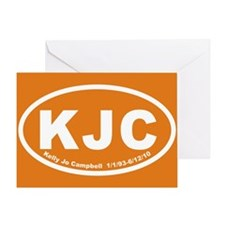 KJCovals20103x5cp Greeting Card