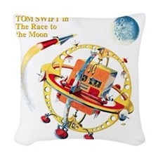 RTTM_text Woven Throw Pillow