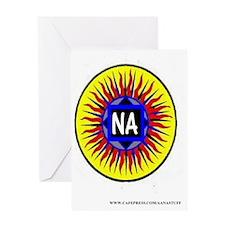 2-na sun Greeting Card