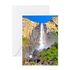 bridalveil_falls Greeting Card