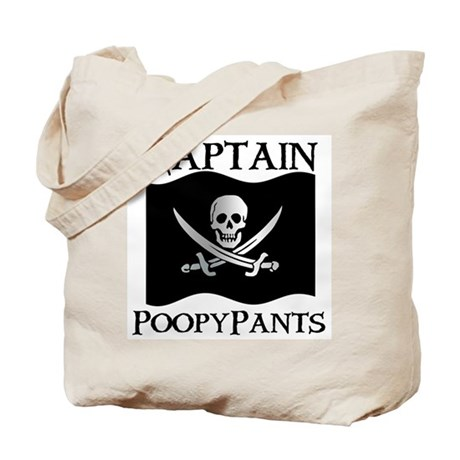 Captain Poopypants Tote Bag