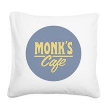 Monks Cafe Square Canvas Pillow