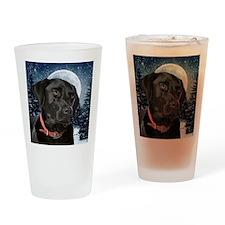 WinterLabOrn Drinking Glass