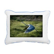 14x10framedprint_Great B Rectangular Canvas Pillow