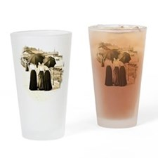 Gibson Girls Drinking Glass