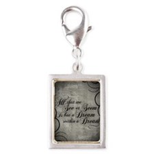 dream-within-a dream_j Silver Portrait Charm