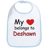 My heart belongs to deshawn Bib